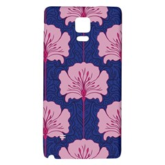 Beautiful Art Nouvea Floral Pattern Galaxy Note 4 Back Case by 8fugoso