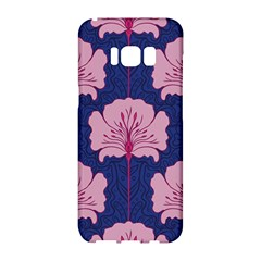 Beautiful Art Nouvea Floral Pattern Samsung Galaxy S8 Hardshell Case  by 8fugoso