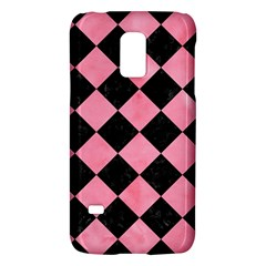 Square2 Black Marble & Pink Watercolor Galaxy S5 Mini by trendistuff