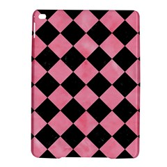 Square2 Black Marble & Pink Watercolor Ipad Air 2 Hardshell Cases by trendistuff
