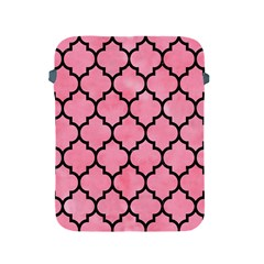 Tile1 Black Marble & Pink Watercolor Apple Ipad 2/3/4 Protective Soft Cases by trendistuff