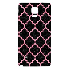 Tile1 Black Marble & Pink Watercolor (r) Galaxy Note 4 Back Case