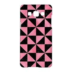 Triangle1 Black Marble & Pink Watercolor Samsung Galaxy A5 Hardshell Case  by trendistuff