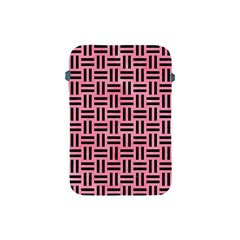 Woven1 Black Marble & Pink Watercolor Apple Ipad Mini Protective Soft Cases by trendistuff
