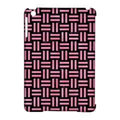 Woven1 Black Marble & Pink Watercolor (r) Apple Ipad Mini Hardshell Case (compatible With Smart Cover) by trendistuff