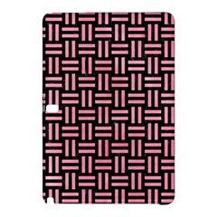 Woven1 Black Marble & Pink Watercolor (r) Samsung Galaxy Tab Pro 10 1 Hardshell Case by trendistuff