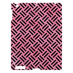 Woven2 Black Marble & Pink Watercolor Apple Ipad 3/4 Hardshell Case by trendistuff