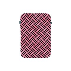 Woven2 Black Marble & Pink Watercolor Apple Ipad Mini Protective Soft Cases by trendistuff