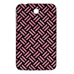 Woven2 Black Marble & Pink Watercolor (r) Samsung Galaxy Tab 3 (7 ) P3200 Hardshell Case  by trendistuff