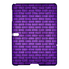Brick1 Black Marble & Purple Brushed Metal Samsung Galaxy Tab S (10 5 ) Hardshell Case  by trendistuff