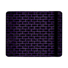 Brick1 Black Marble & Purple Brushed Metal (r) Samsung Galaxy Tab Pro 8 4  Flip Case by trendistuff