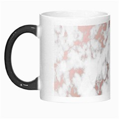 Pure And Beautiful White Marple And Rose Gold, Beautiful ,white Marple, Rose Gold,elegnat,chic,modern,decorative, Morph Mugs by 8fugoso