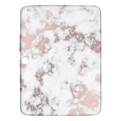 Pure And Beautiful White Marple And Rose Gold, Beautiful ,white Marple, Rose Gold,elegnat,chic,modern,decorative, Samsung Galaxy Tab 3 (10 1 ) P5200 Hardshell Case  by 8fugoso