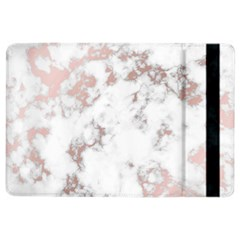 Pure And Beautiful White Marple And Rose Gold, Beautiful ,white Marple, Rose Gold,elegnat,chic,modern,decorative, Ipad Air 2 Flip by 8fugoso