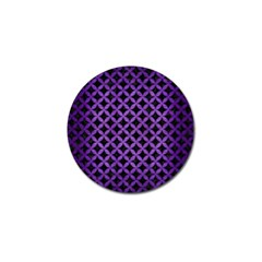 Circles3 Black Marble & Purple Brushed Metal (r) Golf Ball Marker (10 Pack) by trendistuff