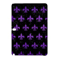 Royal1 Black Marble & Purple Brushed Metal Samsung Galaxy Tab Pro 12 2 Hardshell Case by trendistuff