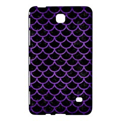 Scales1 Black Marble & Purple Brushed Metal (r) Samsung Galaxy Tab 4 (7 ) Hardshell Case  by trendistuff