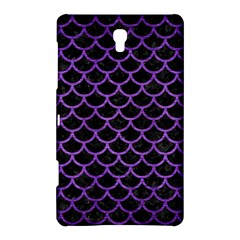 Scales1 Black Marble & Purple Brushed Metal (r) Samsung Galaxy Tab S (8 4 ) Hardshell Case  by trendistuff