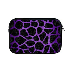 Skin1 Black Marble & Purple Brushed Metal Apple Ipad Mini Zipper Cases by trendistuff