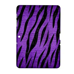 Skin3 Black Marble & Purple Brushed Metal Samsung Galaxy Tab 2 (10 1 ) P5100 Hardshell Case  by trendistuff