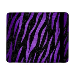 Skin3 Black Marble & Purple Brushed Metal (r) Samsung Galaxy Tab Pro 8 4  Flip Case by trendistuff