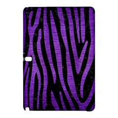 Skin4 Black Marble & Purple Brushed Metal Samsung Galaxy Tab Pro 10 1 Hardshell Case