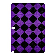 Square2 Black Marble & Purple Brushed Metal Samsung Galaxy Tab Pro 10 1 Hardshell Case by trendistuff