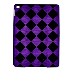 Square2 Black Marble & Purple Brushed Metal Ipad Air 2 Hardshell Cases by trendistuff