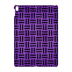 Woven1 Black Marble & Purple Brushed Metal Apple Ipad Pro 10 5   Hardshell Case