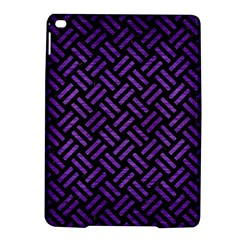Woven2 Black Marble & Purple Brushed Metal (r) Ipad Air 2 Hardshell Cases by trendistuff
