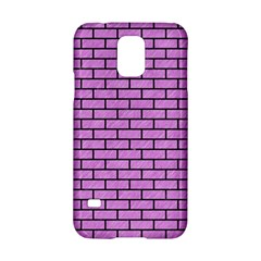 Brick1 Black Marble & Purple Colored Pencil Samsung Galaxy S5 Hardshell Case  by trendistuff