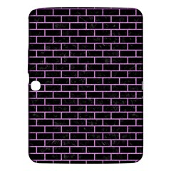 Brick1 Black Marble & Purple Colored Pencil (r) Samsung Galaxy Tab 3 (10 1 ) P5200 Hardshell Case  by trendistuff