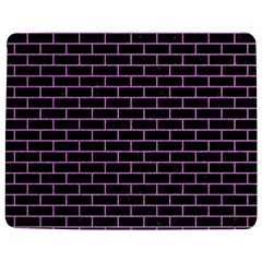 Brick1 Black Marble & Purple Colored Pencil (r) Jigsaw Puzzle Photo Stand (rectangular) by trendistuff