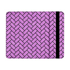 Brick2 Black Marble & Purple Colored Pencil Samsung Galaxy Tab Pro 8 4  Flip Case by trendistuff