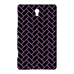 Brick2 Black Marble & Purple Colored Pencil (r) Samsung Galaxy Tab S (8 4 ) Hardshell Case  by trendistuff