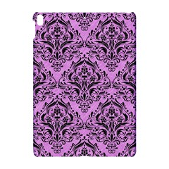 Damask1 Black Marble & Purple Colored Pencil Apple Ipad Pro 10 5   Hardshell Case by trendistuff