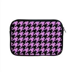 Houndstooth1 Black Marble & Purple Colored Pencil Apple Macbook Pro 15  Zipper Case by trendistuff