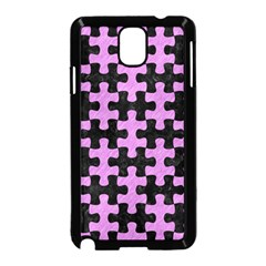 Puzzle1 Black Marble & Purple Colored Pencil Samsung Galaxy Note 3 Neo Hardshell Case (black) by trendistuff
