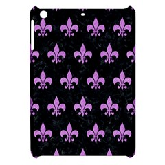 Royal1 Black Marble & Purple Colored Pencil Apple Ipad Mini Hardshell Case by trendistuff