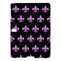 Royal1 Black Marble & Purple Colored Pencil Samsung Galaxy Tab S (10 5 ) Hardshell Case  by trendistuff
