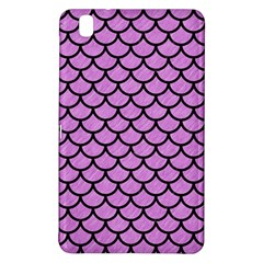 Scales1 Black Marble & Purple Colored Pencil Samsung Galaxy Tab Pro 8 4 Hardshell Case by trendistuff