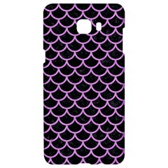 Scales1 Black Marble & Purple Colored Pencil (r) Samsung C9 Pro Hardshell Case  by trendistuff