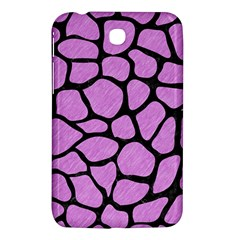 Skin1 Black Marble & Purple Colored Pencil (r) Samsung Galaxy Tab 3 (7 ) P3200 Hardshell Case  by trendistuff