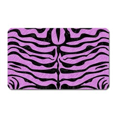 Skin2 Black Marble & Purple Colored Pencil Magnet (rectangular) by trendistuff