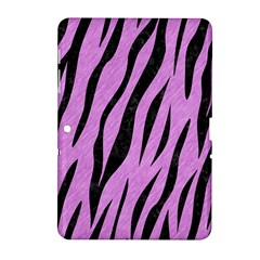 Skin3 Black Marble & Purple Colored Pencil Samsung Galaxy Tab 2 (10 1 ) P5100 Hardshell Case  by trendistuff