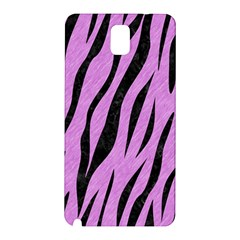 Skin3 Black Marble & Purple Colored Pencil Samsung Galaxy Note 3 N9005 Hardshell Back Case by trendistuff