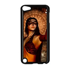 Wonderful Fantasy Women With Mask Apple Ipod Touch 5 Case (black) by FantasyWorld7