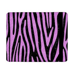 Skin4 Black Marble & Purple Colored Pencil Samsung Galaxy Tab Pro 8 4  Flip Case by trendistuff