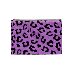 Skin5 Black Marble & Purple Colored Pencil (r) Cosmetic Bag (medium)  by trendistuff