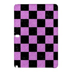 Square1 Black Marble & Purple Colored Pencil Samsung Galaxy Tab Pro 12 2 Hardshell Case by trendistuff